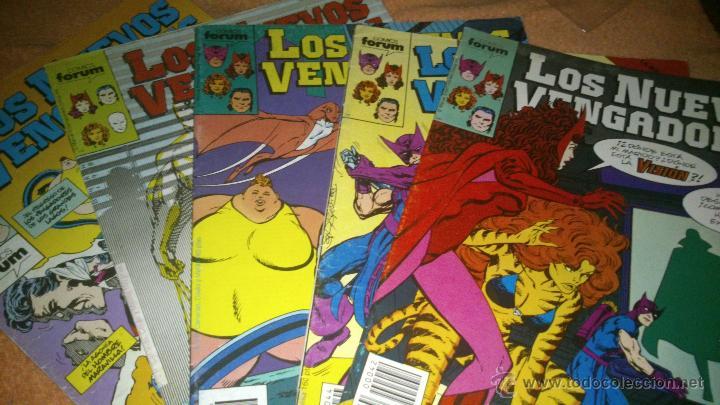 LOS NUEVOS VENGADORES VOL I LOTE JOHN BYRNE NºS 42 44 46 Y 47 + 36 DE REGALO (Tebeos y Comics - Forum - Vengadores)