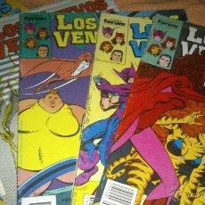 Cómics: LOS NUEVOS VENGADORES VOL I LOTE JOHN BYRNE NºS 42 44 46 Y 47 + 36 DE REGALO. Lote 46974324