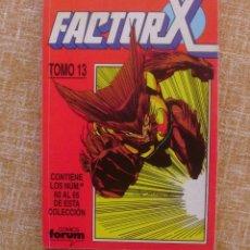 Cómics: FACTOR X, TOMO 13, NÚMEROS 60 AL 65, EDITORIAL PLANETA DEAGOSTINI, COMICS FORUM, AÑO 1993, USADO. Lote 46985545