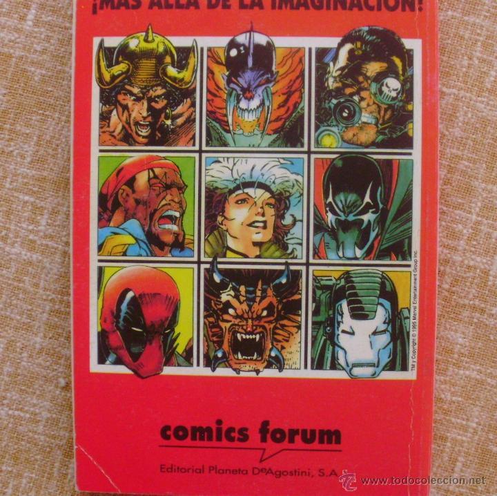 Cómics: Factor X, Tomo 13, Números 60 al 65, Editorial Planeta DeAgostini, Comics Forum, año 1993, Usado - Foto 4 - 46985545