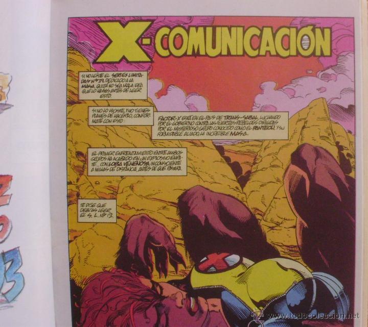 Cómics: Factor X, Tomo 13, Números 60 al 65, Editorial Planeta DeAgostini, Comics Forum, año 1993, Usado - Foto 7 - 46985545