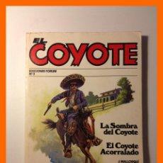 Cómics: LA SOMBRA DEL COYOTE / EL COYOTE ACORRALADO - J. MALLORQUÍ - COLECCIÓN EL COYOTE Nº3. Lote 47037278