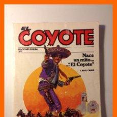Cómics: EL COYOTE / LA VUELTA DEL COYOTE - J. MALLORQUÍ - COLECCIÓN EL COYOTE Nº1. Lote 47037329