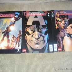 Cómics: THE ULTIMATES VOL.1: 1 A 3. COLECCION COMPLETA. FORUM. MILLAR & HITCH. Lote 47039089