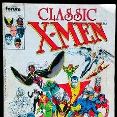 Cómics: CLASSIC X-MEN Nº 1 / MARVEL / FORUM 1988 (CHRIS CLAREMONT & DAVE COCKRUM). Lote 47052736