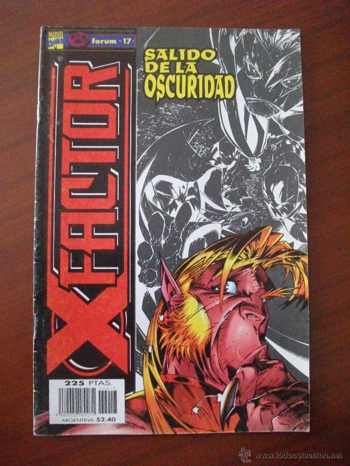 X FACTOR VOL 2 Nº 17 COMICS FORUM C2 (Tebeos y Comics - Forum - Factor X)