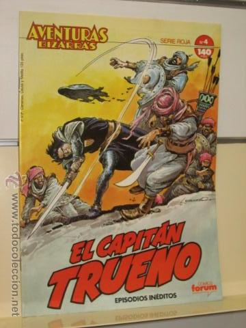 CAPITAN TRUENO AVENTURAS BIZARRAS SERIE ROJA Nº 4 FORUM (Tebeos y Comics - Forum - Otros Forum)