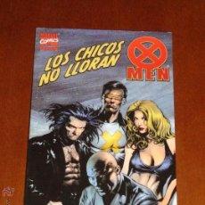 Cómics: X MEN, LOS CHICOS NO LLORAN. FORUM. MUY BUEN ESTADO. Lote 47146661