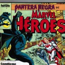 Cómics: PANTERA NEGRA - MARVEL HEROES - TOMO RETAPADO NºS 41 - 42 - 43 - 44 - FORUM. Lote 47147603