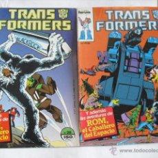 Cómics: 2 COMIC TRANS FORMERS, DE FORUM 1987. Lote 47157338