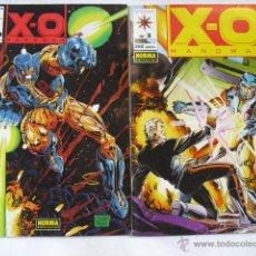 Cómics: 2 COMIC X-O MANOWAR, DE FORUM 1993. Lote 47157813