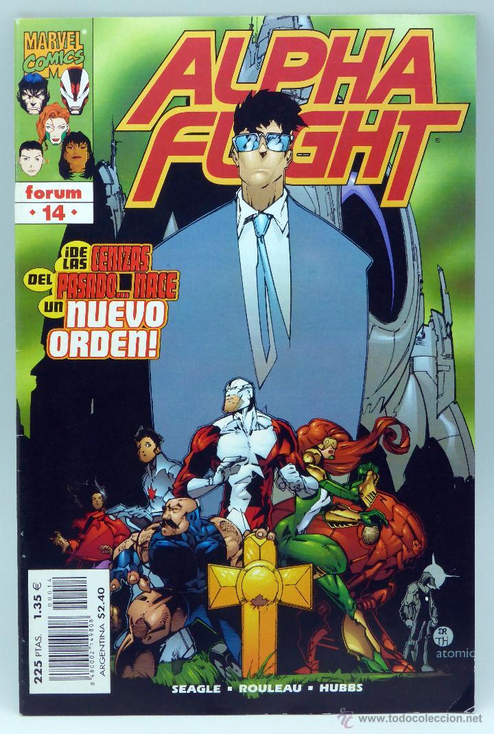 ALPHA FLIGHT Nº 14 MARVEL CÓMICS FORUM 1998 (Tebeos y Comics - Forum - Alpha Flight)
