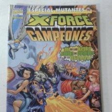 Cómics: ESPECIAL MUTANTES -- Nº 10 -- X-FORCE CAMPEONES -- FORUM --. Lote 47291173