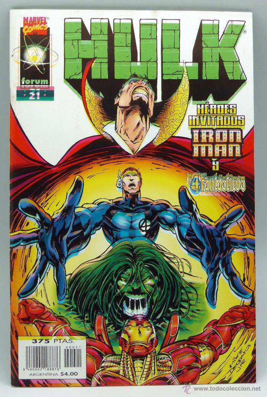 HULK Nº 21 MARVEL FORUM COMICS 1998 (Tebeos y Comics - Forum - Hulk)