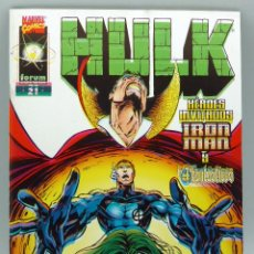 Cómics: HULK Nº 21 MARVEL FORUM COMICS 1998. Lote 47325098