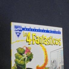 Comics : BIBLIOTECA MARVEL - LOS 4 FANTASTICOS - Nº 01 - FORUM.. Lote 47376986