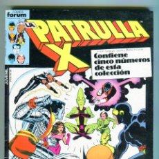Cómics: PATRULLA X RETAPADO TACO CON 5 NUMEROS DEL 32 AL36 AÑOS 80. Lote 47399793