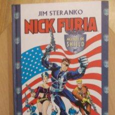 Cómics: NICK FURIA-AGENTE DE SHIELD-JIM STERANKO-TOMO TAPA DURA-248 PAGINAS-FORUM-PERFECTO. Lote 47404077
