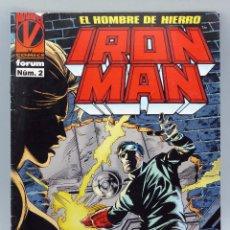 Cómics: IRON MAN Nº 2 MARVEL CÓMICS FORUM 1995. Lote 47405942