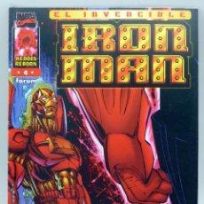 Cómics: EL INVENCIBLE IRON MAN Nº 4 MARVEL CÓMICS FORUM 1996. Lote 47405956