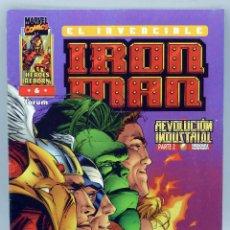 Cómics: EL INVENCIBLE IRON MAN Nº 6 MARVEL CÓMICS FORUM 1997. Lote 47405967