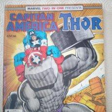 Cómics: CAPITAN AMERICA & THOR NUMEROS 51, 52, 53 DE MARK GRUENWALD, PAUL NEARY, WALTER SIMONSON.... Lote 47408577