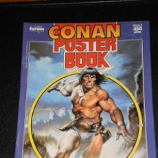 Cómics: CONAN POSTER BOOK. Nº 1 - 1992 COMICS FORUM. Lote 47410524