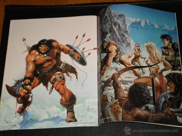 Cómics: CONAN POSTER BOOK. Nº 1 - 1992 Comics Forum - Foto 3 - 47410524