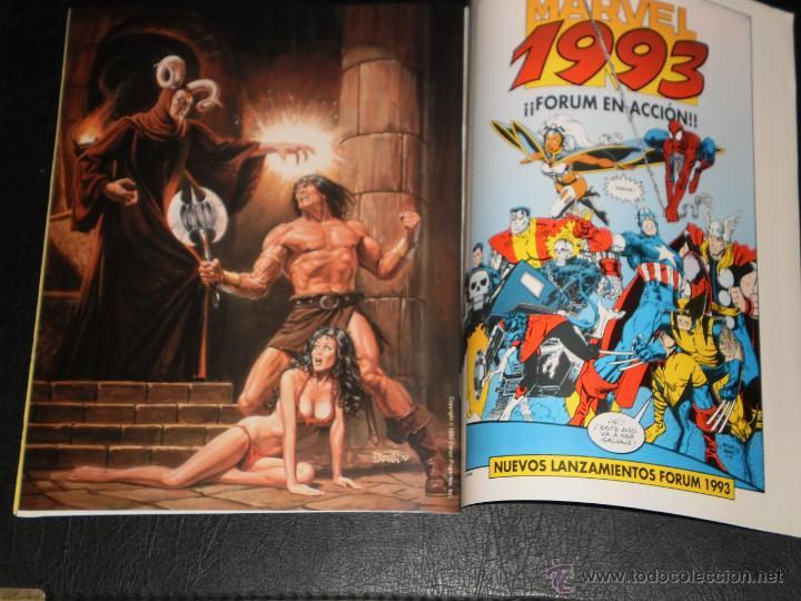 Cómics: CONAN POSTER BOOK. Nº 1 - 1992 Comics Forum - Foto 4 - 47410524