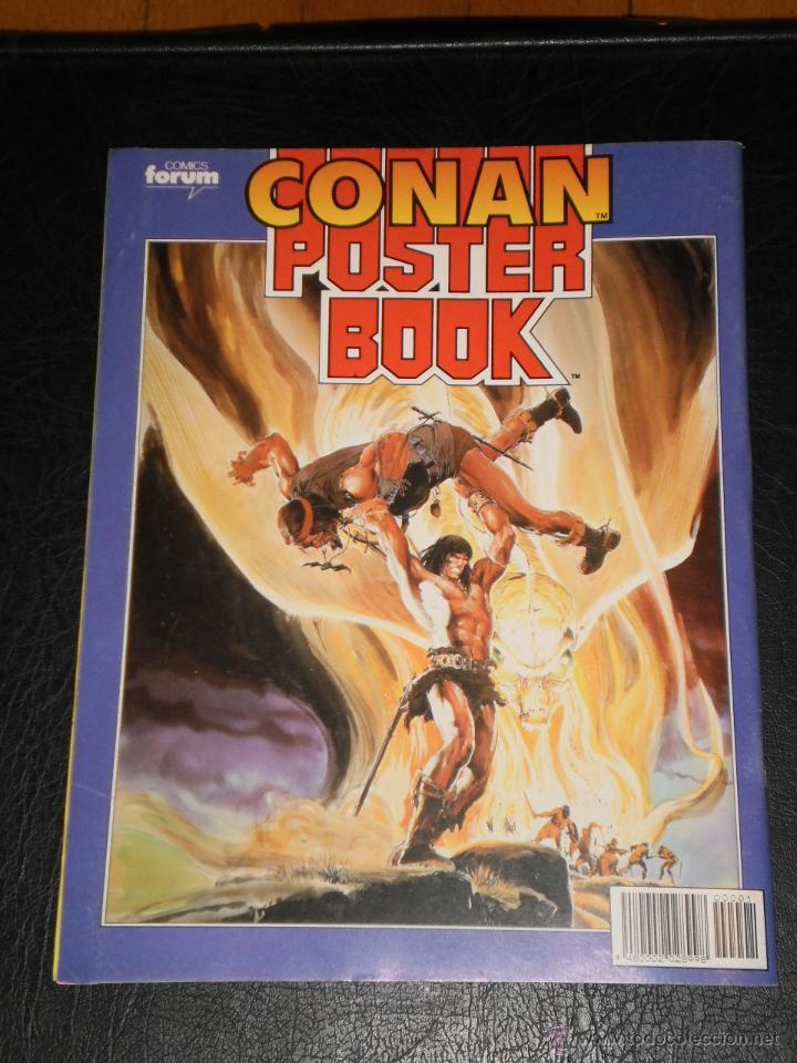 Cómics: CONAN POSTER BOOK. Nº 1 - 1992 Comics Forum - Foto 5 - 47410524