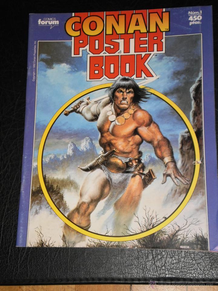 Cómics: CONAN POSTER BOOK. Nº 1 - 1992 Comics Forum - Foto 6 - 47410524
