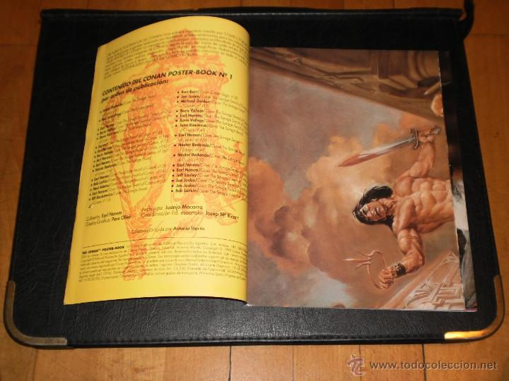 Cómics: CONAN POSTER BOOK. Nº 1 - 1992 Comics Forum - Foto 7 - 47410524