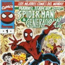 Cómics: SPIDERMAN Y GENERACION X MARVEL TEAM-UP Nº 1 EDICIONES FORUM COMO NUEVO. Lote 47418404
