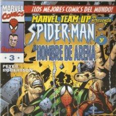 Cómics: SPIDERMAN Y EL HOMBRE DE ARENA MARVEL TEAM-UP Nº 3 EDICIONES FORUM COMO NUEVO. Lote 47418513