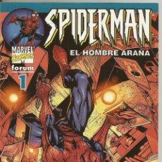 Cómics: SPIDERMAN VOLUMEN 6 Nº 1 LOMO AZUL EDICIONES FORUM COMO NUEVO. Lote 47418914