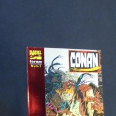Cómics: CONAN - Nº 1 - FORUM.. Lote 47438695