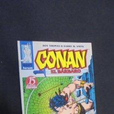 Cómics: CONAN EL BARBARO - Nº 13 - ROY THOMAS - FORUM.. Lote 47440103