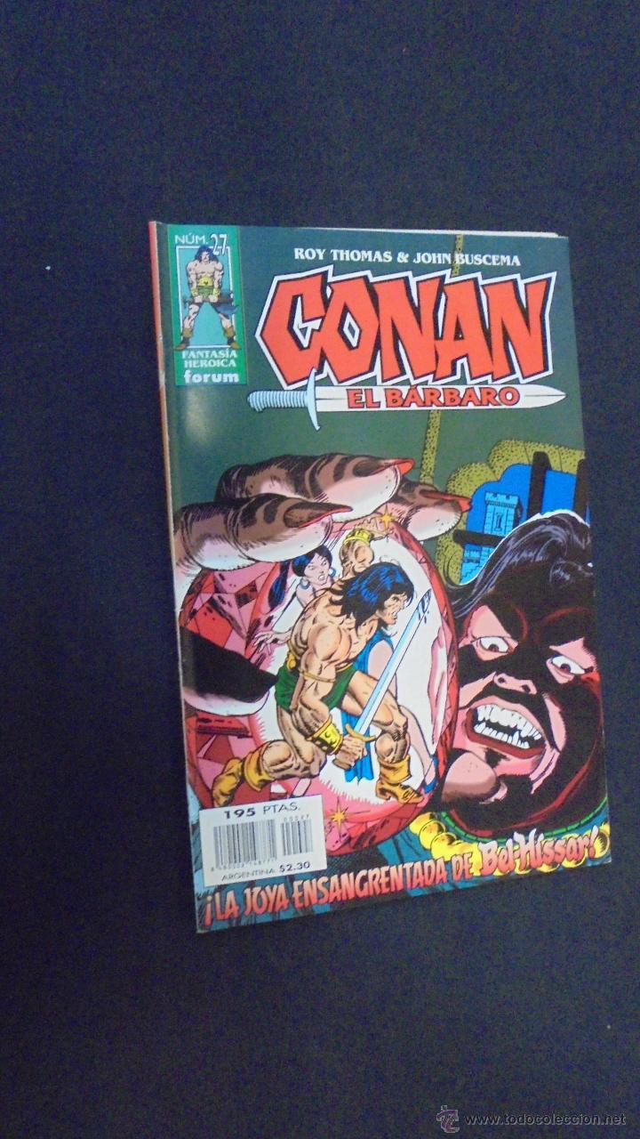 CONAN EL BARBARO - Nº 27 - ROY THOMAS - FORUM. (Tebeos y Comics - Forum - Conan)