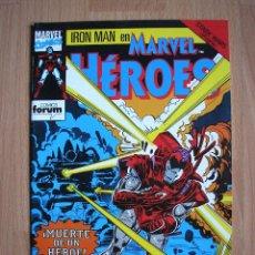 Cómics: MARVEL HEROES Nº 58 FORUM - POSIBILIDAD DE ENTREGA EN MANO EN MADRID. Lote 47460913
