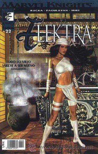 ELEKTRA: MARVEL KNIGHTS LOTE DE 5 Nº 22-23-24-25-27 (Tebeos y Comics - Forum - Daredevil)