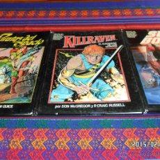 Cómics: NOVELAS GRÁFICAS MARVEL COMPLETA 8 NºS FORUM 1983 REGALO CONAN BRUJA AQUERON RETORNO JEDI TARZAN!!!!. Lote 37976081