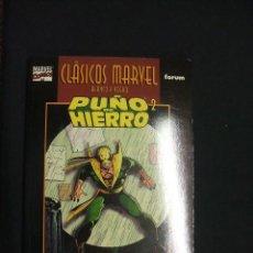 Cómics: CLASICOS MARVEL BLANCO Y NEGRO - PUÑO DE HIERRO 2 - JOHN BYRNE - CLAREMONT - FORUM - . Lote 47717708