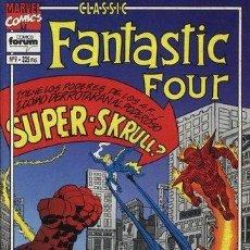Cómics: FANTASTIC FOUR CLASSIC LOTE DE 3 Nº 9-10-11. Lote 47741695