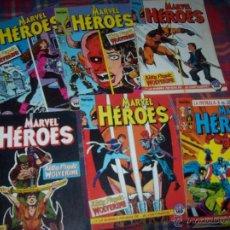 Cómics: EXTRAORDINARIO LOTE DE CÓMICS DE MARVEL HEROES( Nº 1,2,3,4,5,7).CÓMICS FORUM. VER FOTOS.. Lote 47761393
