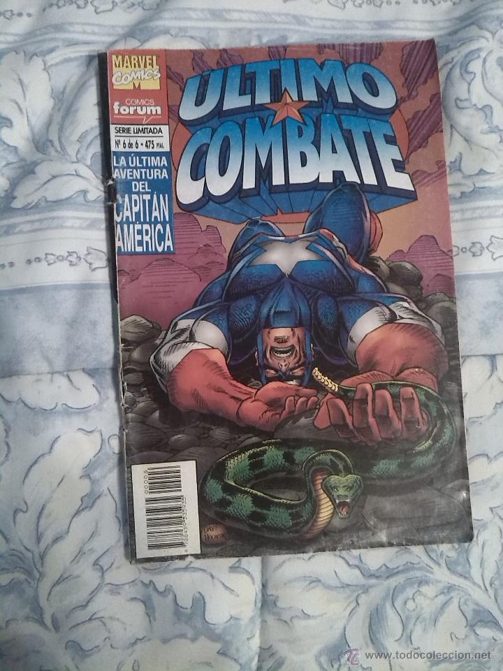 CAPITAN AMERICA / EL ULTIMO COMBATE NUMERO 6 DE 6 (Tebeos y Comics - Forum - Capitán América)