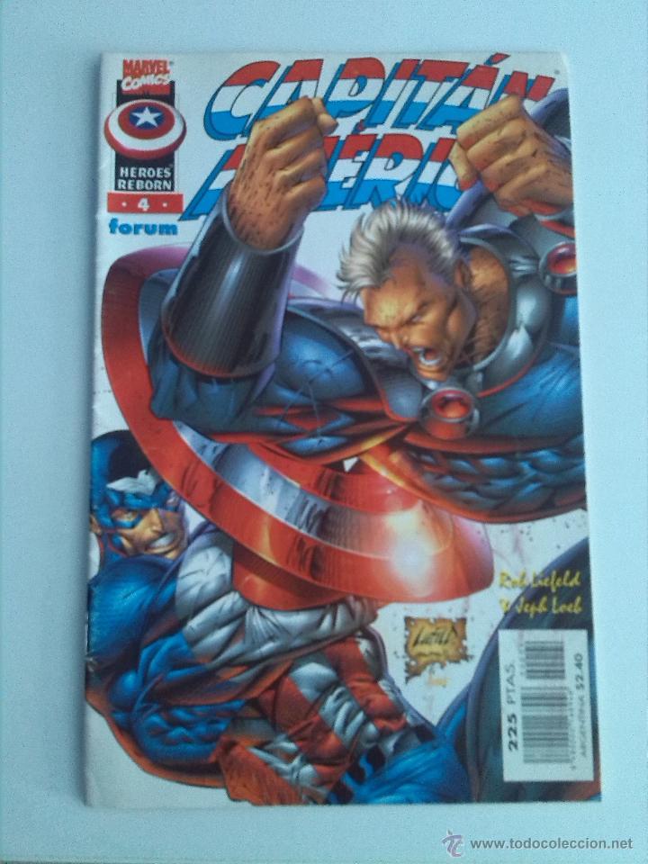 CAPITAN AMERICA / HEROES REBORN Nº 4 (Tebeos y Comics - Forum - Capitán América)