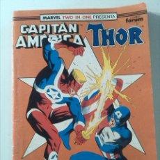 Cómics: MARVEL TWO-IN-ONE CAPITAN AMERICA THOR Nº67. Lote 47841402
