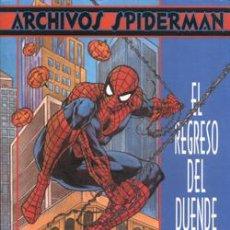Cómics: ARCHIVOS SPIDERMAN: EL REGRESO DEL DUENDE. VOLUMEN 1 NUMERO 1. TOMO FORUM.. Lote 54154503