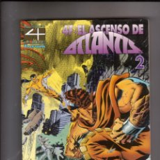 Cómics: FORUM - TOMO 4 FANTASTICOS : EL ASCENSO DE ATLANTIS 2 . MUY BUEN ESTADO. Lote 47920158