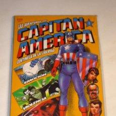 Cómics: LAS AVENTURAS DEL CAPITAN AMERICA. Nº 1 AL 4. COMPLETA. FORUM. EXCELENTE ESTADO.. Lote 47934054